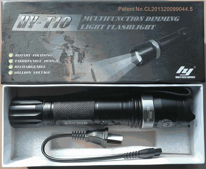 电棒防身_黑鹰HY-T10型特警高压电棍-防身电棒「安盾电棍专卖网」